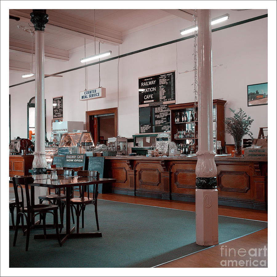 Old Railway Cafe by Russell Brown