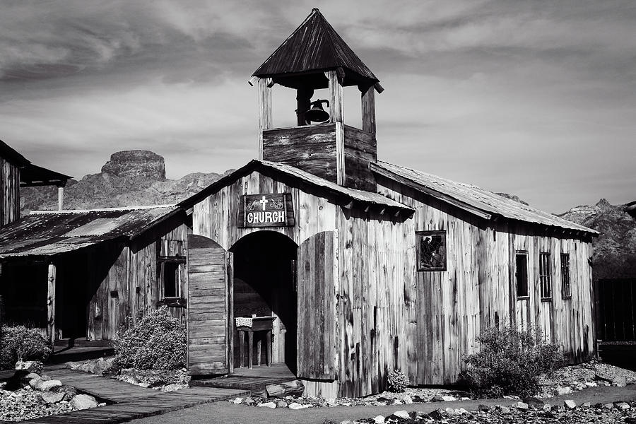 1864 Photograph - Old Rugged Church by Jack and Darnell Est