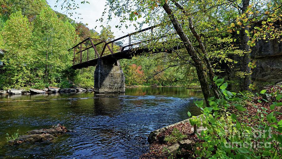 Old Rusty Bridge Photograph