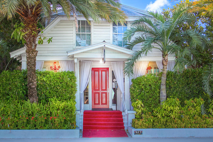 Old Style Key West Hotel Photograph