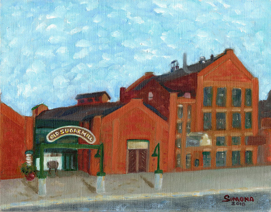 Old Sugar Mill Painting - Old Sugar Mill by Simona Hernandez