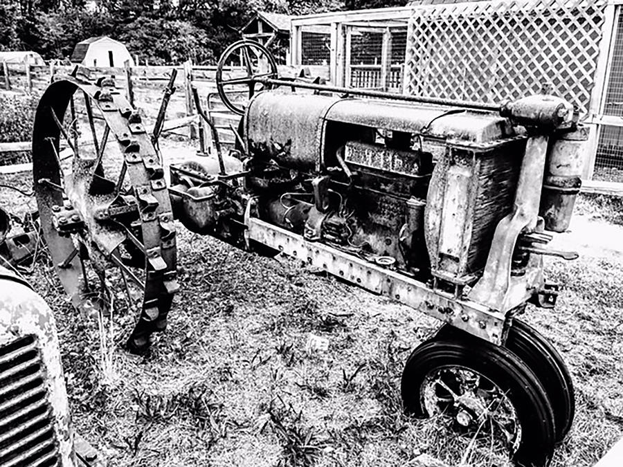 Tractor Photograph - Old Tractor by Jeremy Edsall