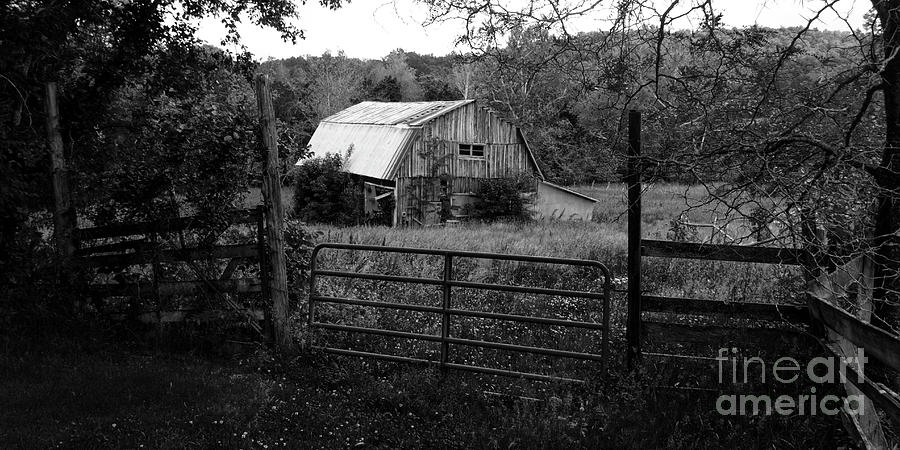 Old wooden barn by Garry McMichael