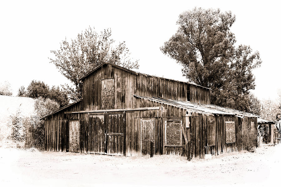 Old Wooden Barn Photograph
