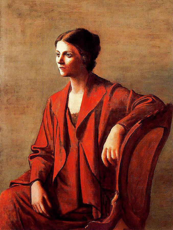 Olga Painting