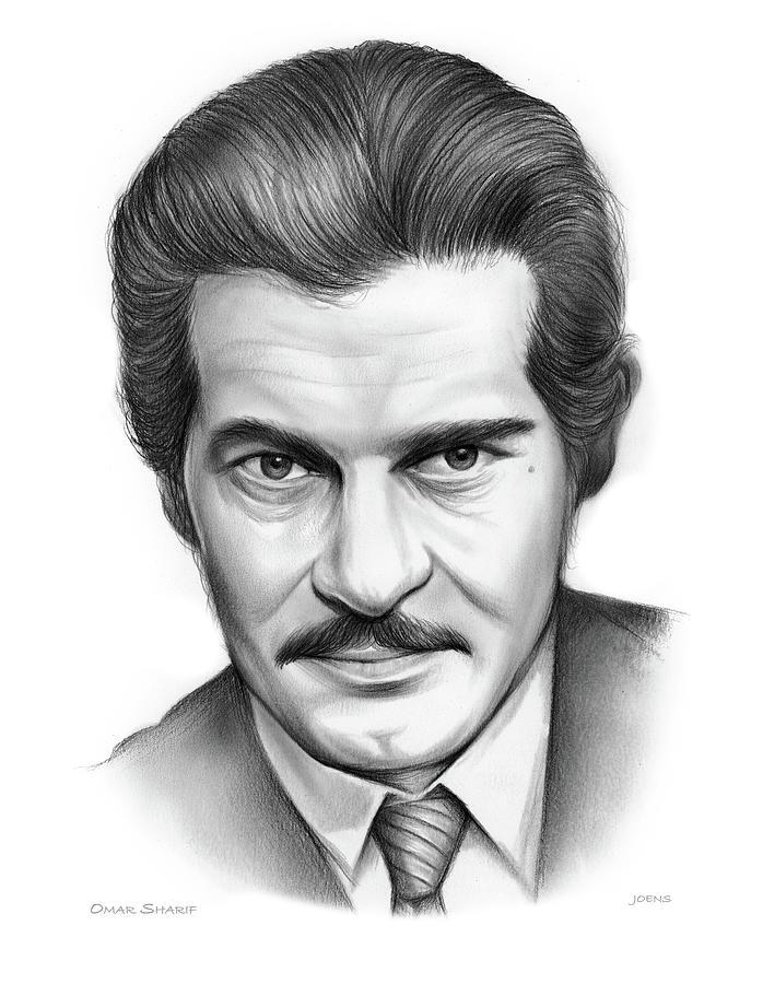 Omar Sharif Drawing
