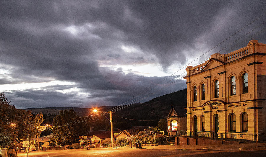 Victoria Mixed Media - Omeo Nights by Leigh Henningham