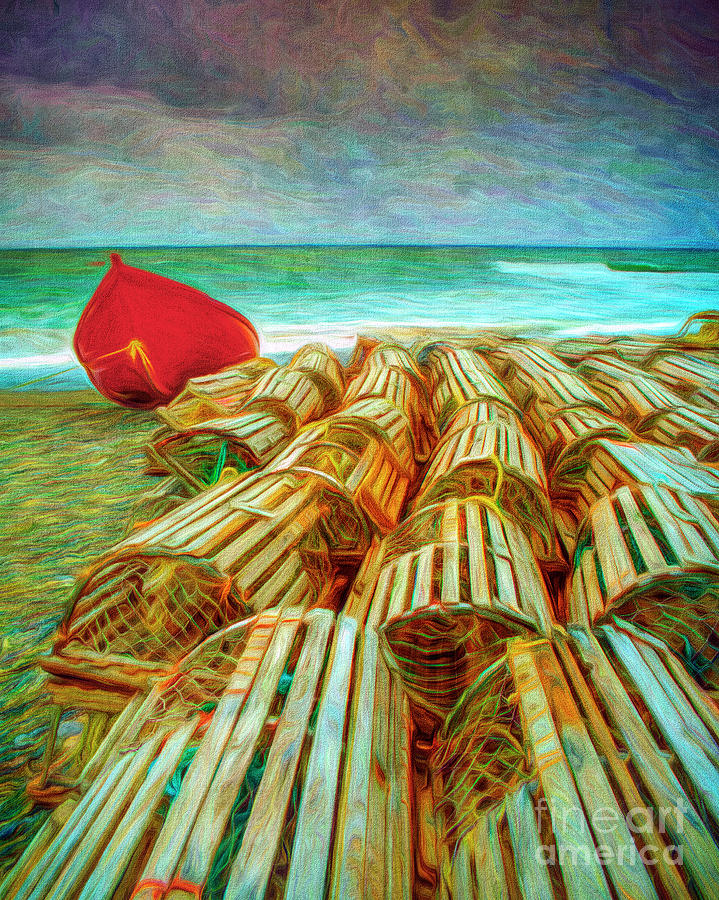 On The Beach by Edmund Nagele