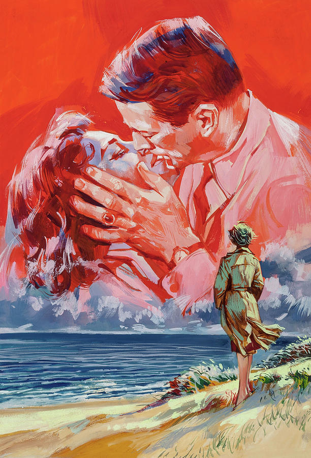 on The Beach, With Ava Gardner And Gregory Peck, 1959 Mixed Media