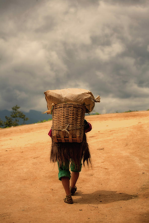 China Photograph - on the hills of Yunan  by Mimo Khair