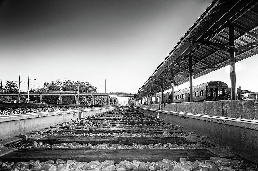 On The Rails Photograph