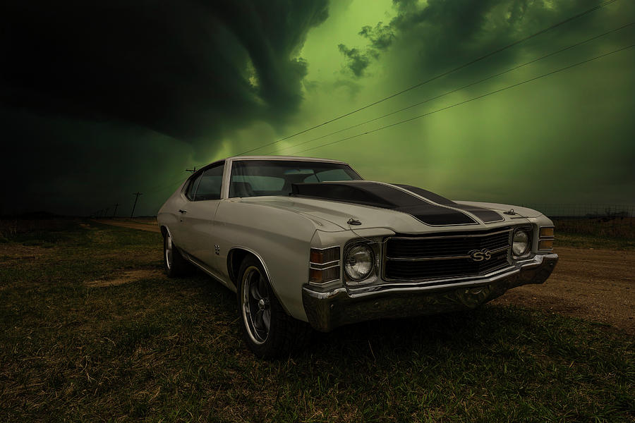 Chevelle Ss Photograph - On the Run by Aaron J Groen