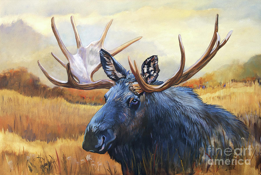 Once in a Blue Moose by J W Baker