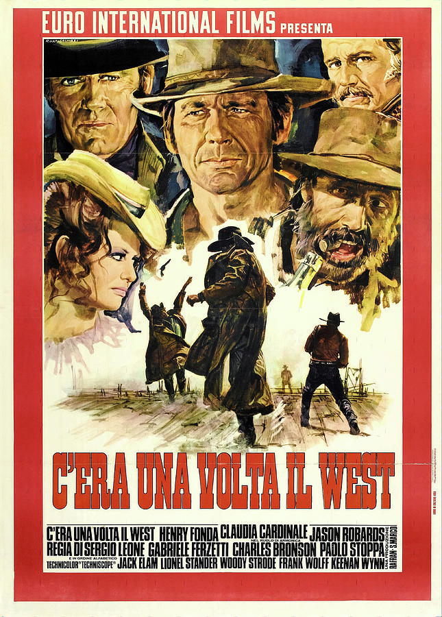 once Upon A Time In The West, 1968 Mixed Media