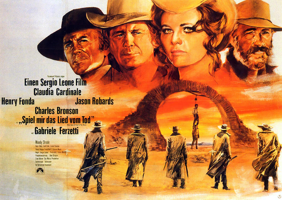 once Upon A Time In The West, With Jason Robards, 1968 Mixed Media