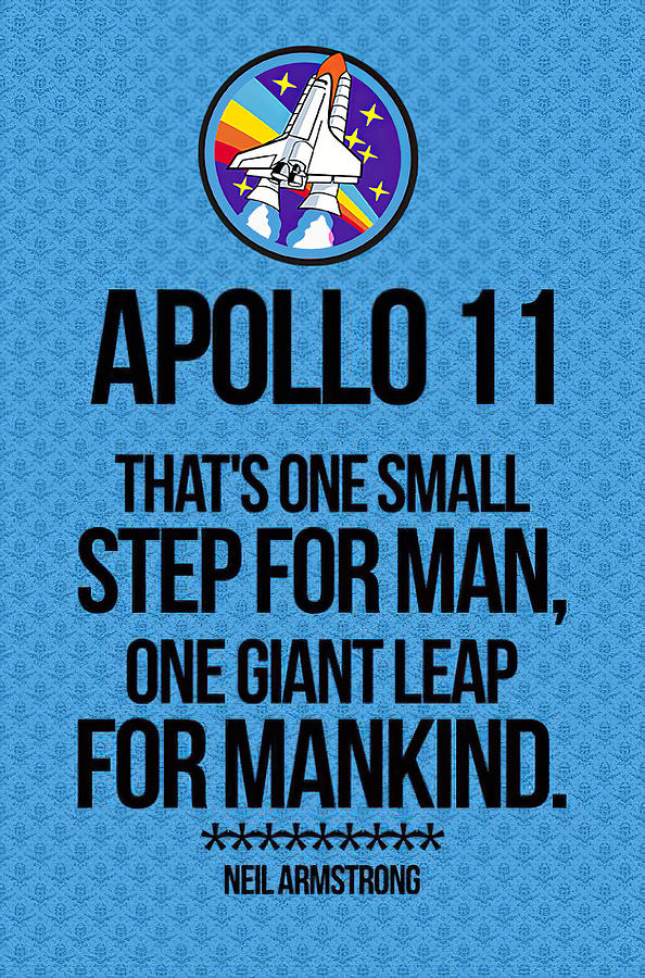 One Giant Leap For Mankind by Floyd Snyder