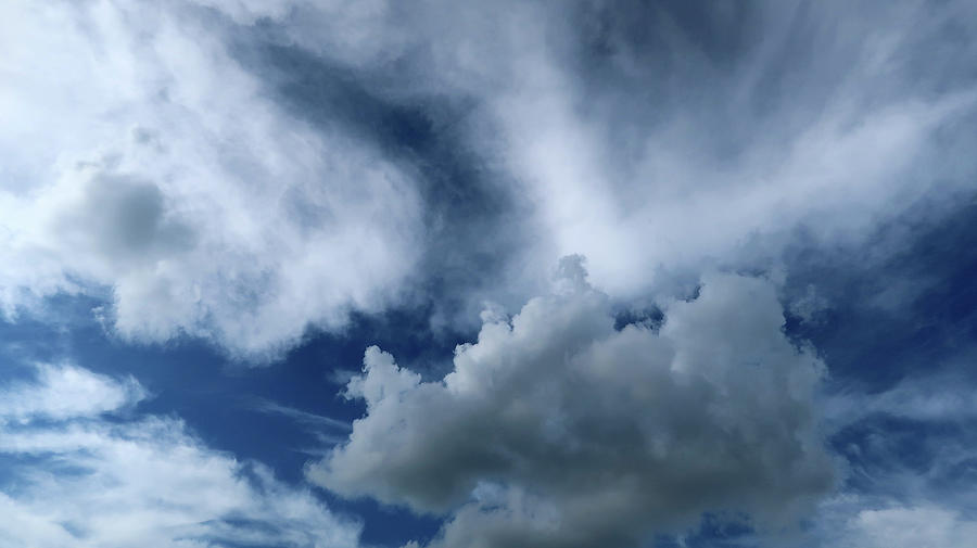 One Gray Cloud Photograph