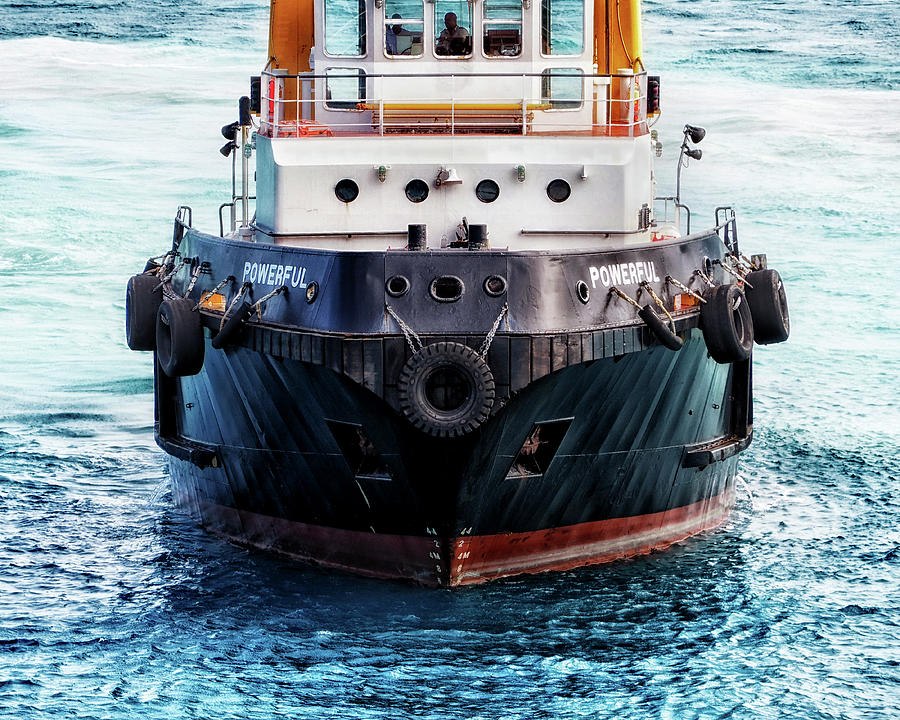 One Powerful Tugboat 8705400 102 by Bill Swartwout Photography