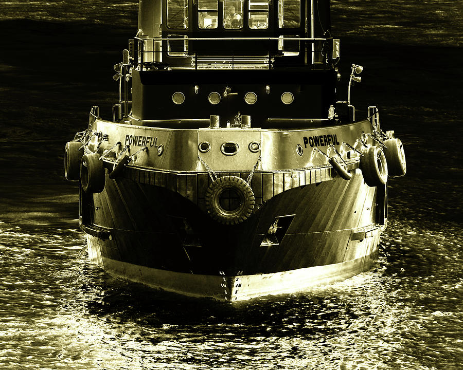 One Powerful Tugboat 8705400 103 by Bill Swartwout Photography