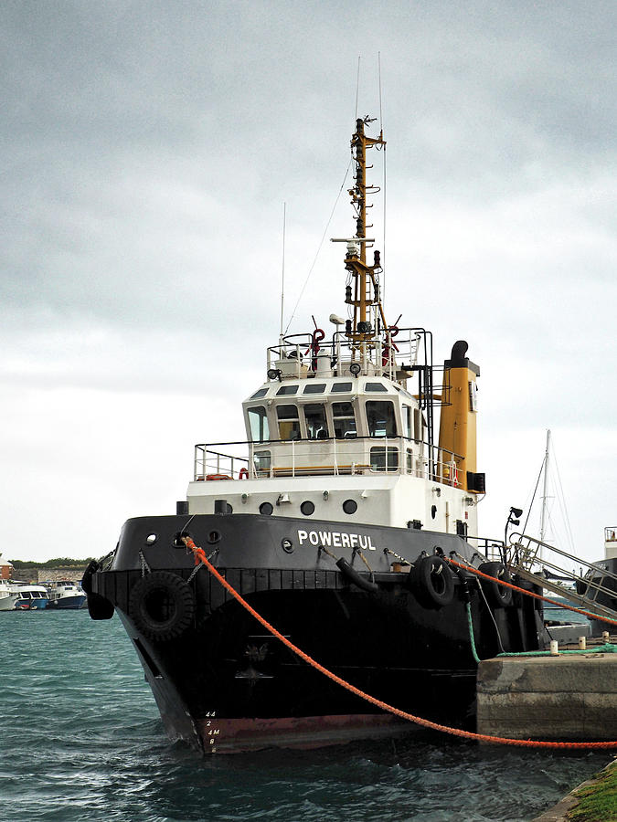 One Powerful Tugboat 8705400 104 by Bill Swartwout Photography