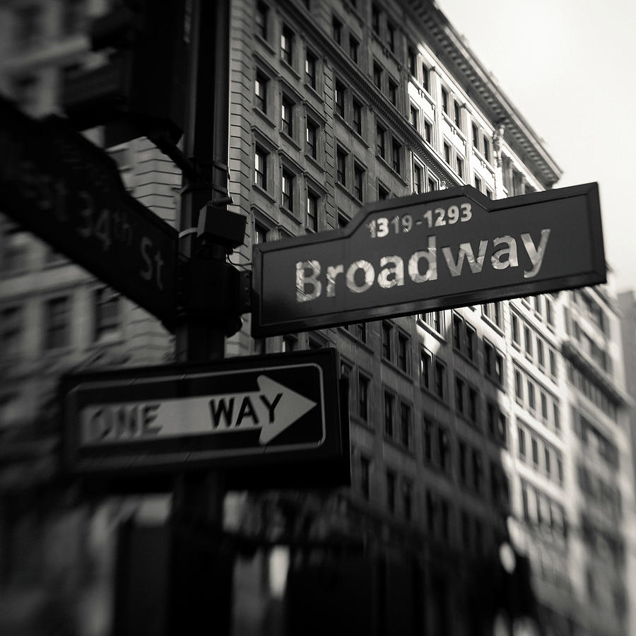 One Way to Broadway by Dave Bowman