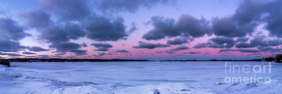 Onekama Winter Panorama Photograph