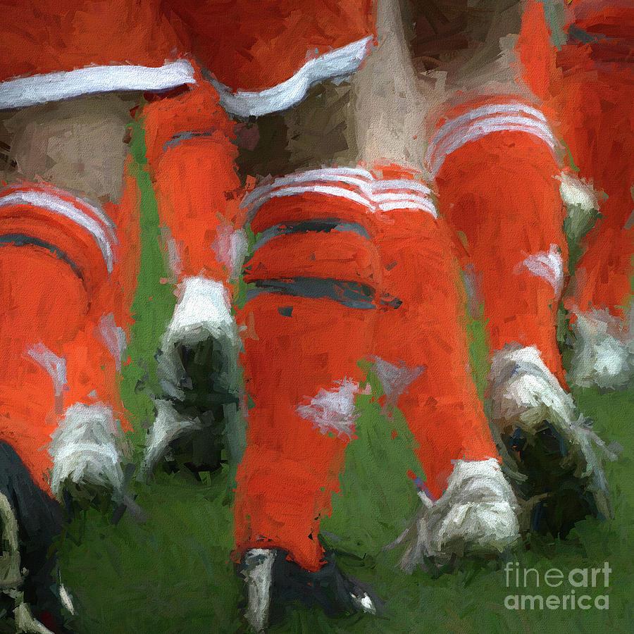 Sports Digital Art - Onto The Field Again by Chris Mautz