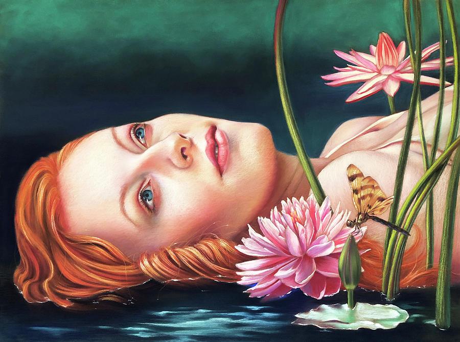 Soft Pastel Pastel - Ophelia by Melanie Stimmell Van Latum