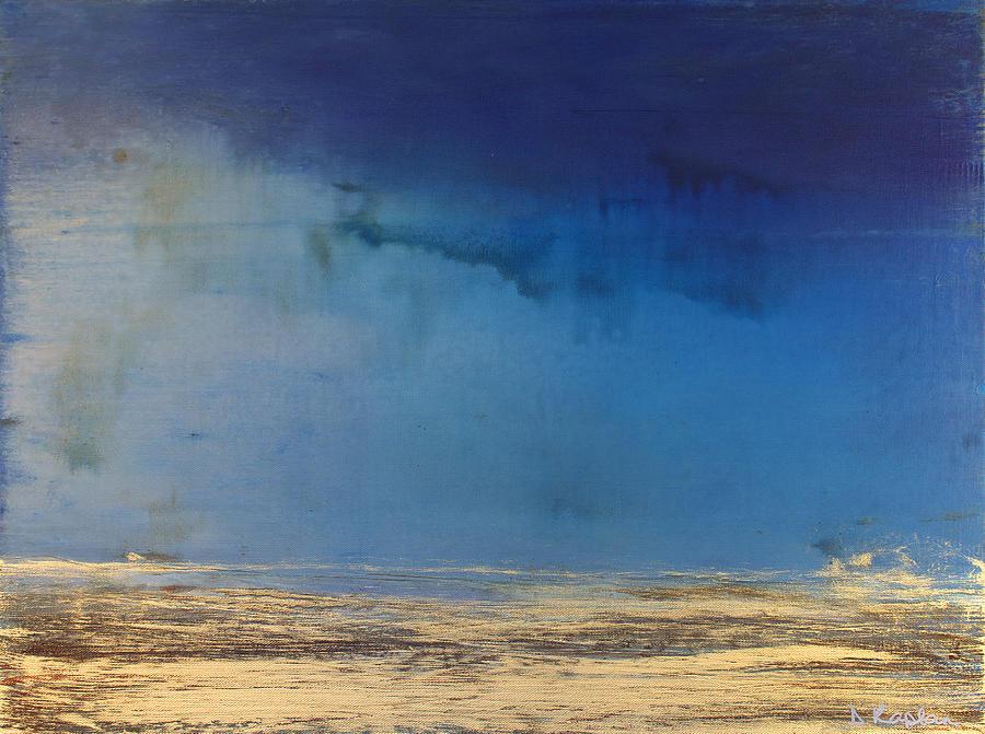 Derek Kaplan Painting - Opt.10.20 Storm by Derek Kaplan