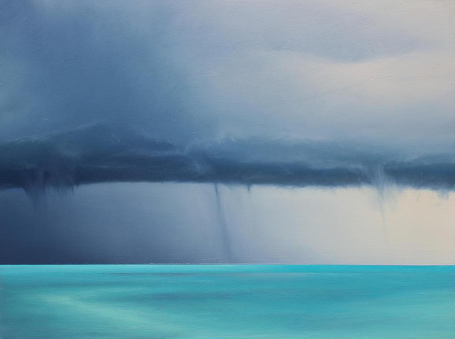 Derek Kaplan Painting - Opt.13.20 by Derek Kaplan