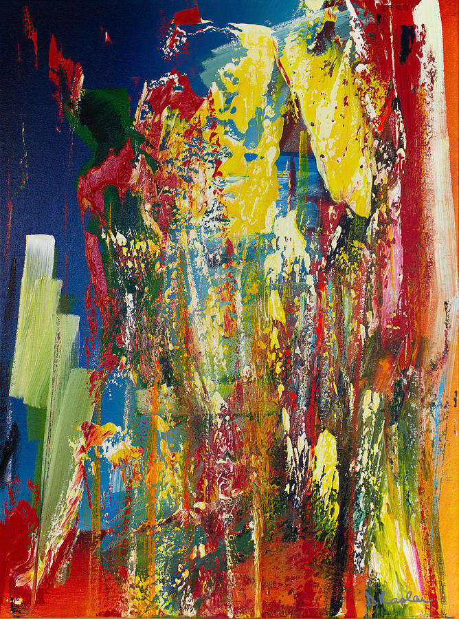Derek Kaplan Painting - Opt.13.20 Play The Game by Derek Kaplan