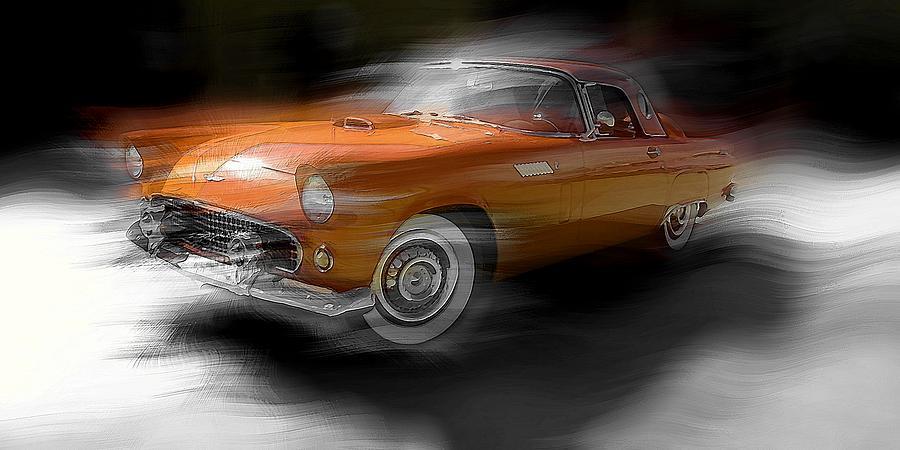 Orange Thunderbird by David Manlove