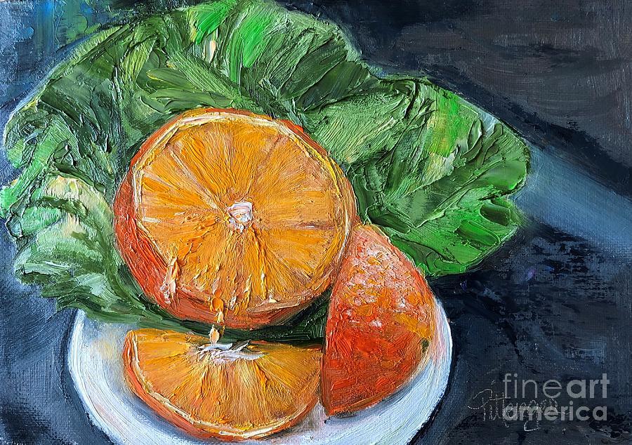 Orange You Glad Painting