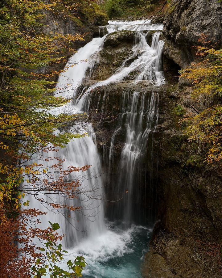 Ordesa Falls by Stephen Taylor