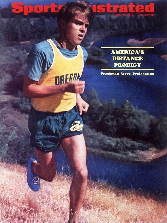 Oregon Steve Prefontaine Sports Illustrated Cover Photograph by Sports Illustrated