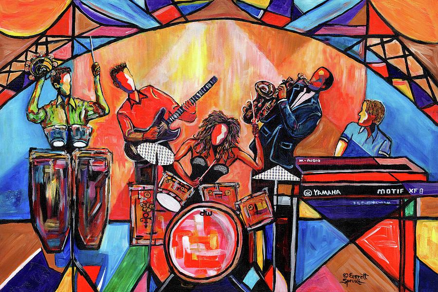 Orlando International Jazz Fest by Everett Spruill
