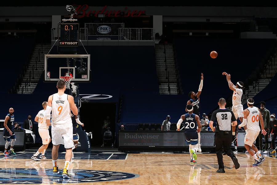 Orlando Magic v Minnesota Timberwolves Photograph by David Sherman