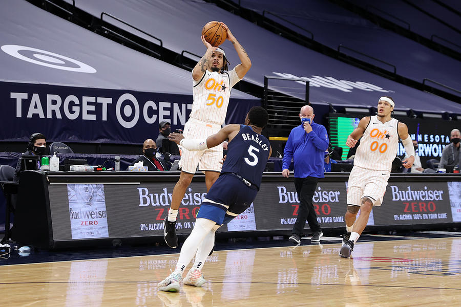 Orlando Magic v Minnesota Timberwolves Photograph by Jordan Johnson