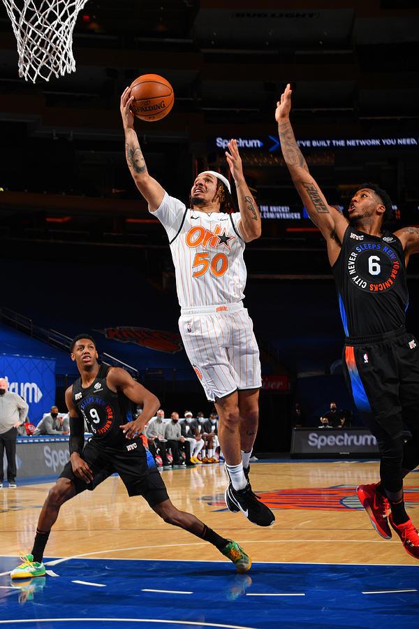 Orlando Magic v New York Knicks Photograph by Jesse D. Garrabrant