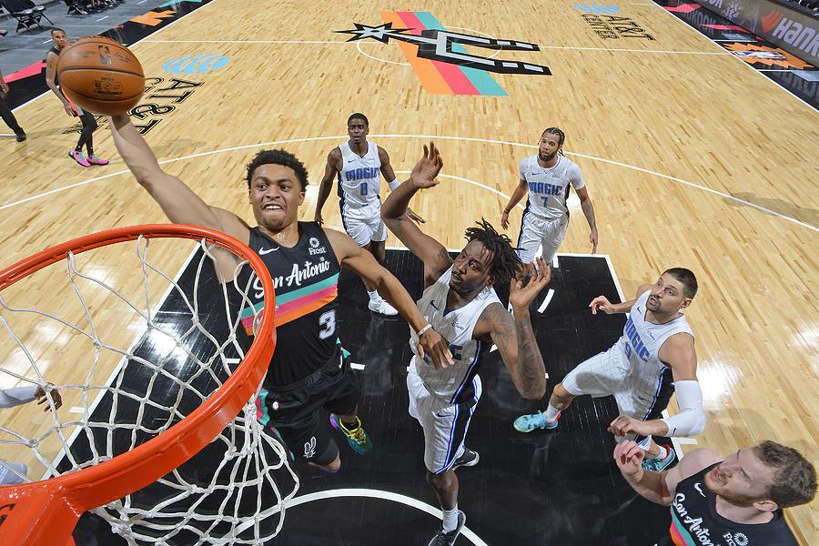 Orlando Magic vs. San Antonio Spurs Photograph by Logan Riely