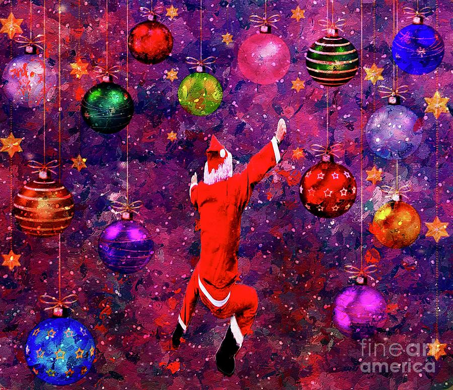 Ornament Funland Mixed Media