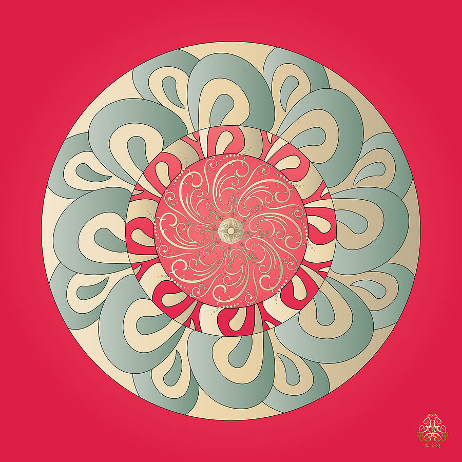 Ornativo Vero Circulus No 4163 Digital Art