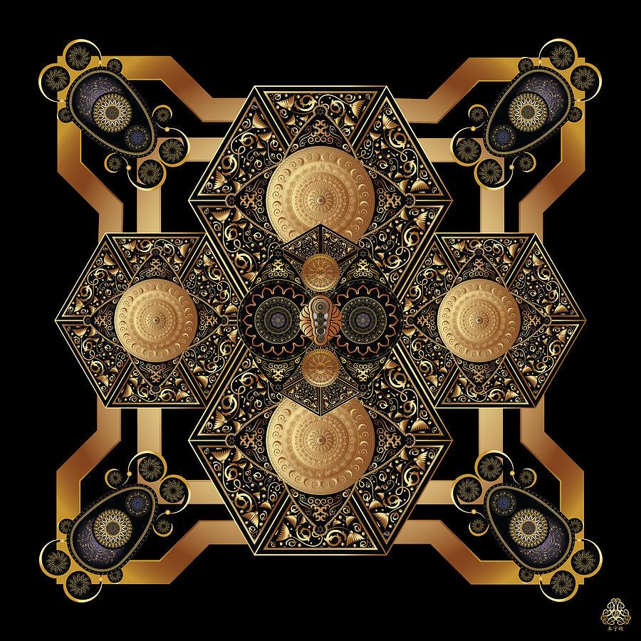 Ornativo Vero Circulus No 4182 Digital Art