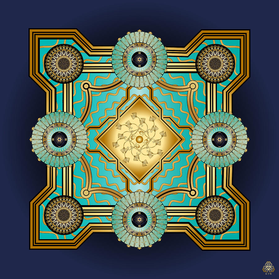 Ornativo Vero Circulus No 4187 Digital Art