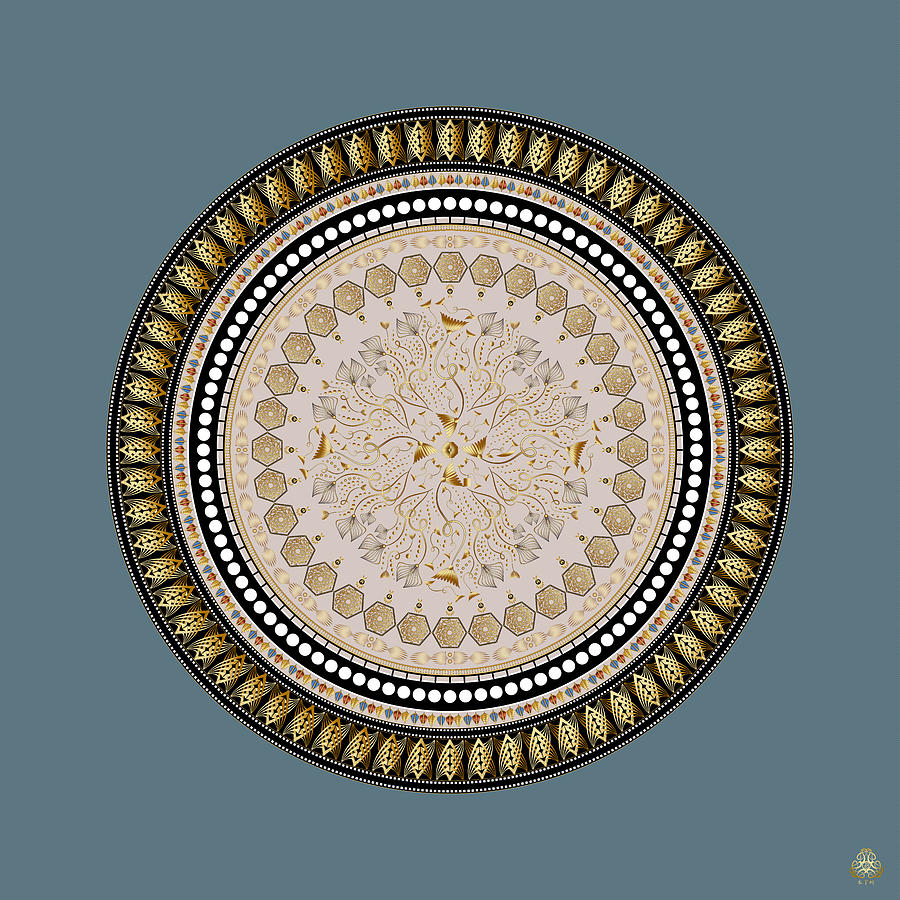 Ornativo Vero Circulus No 4202 Digital Art