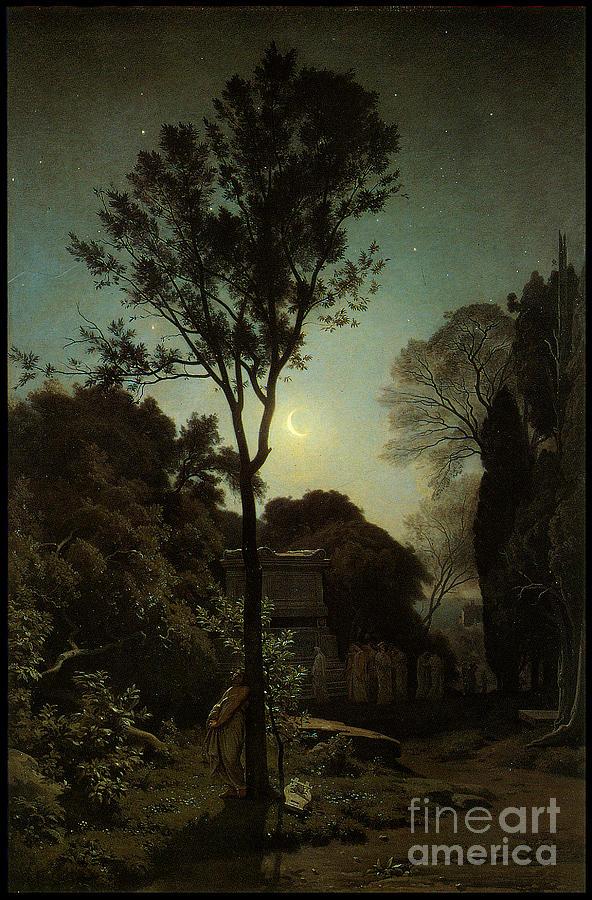 Orpheus 1863 Painting
