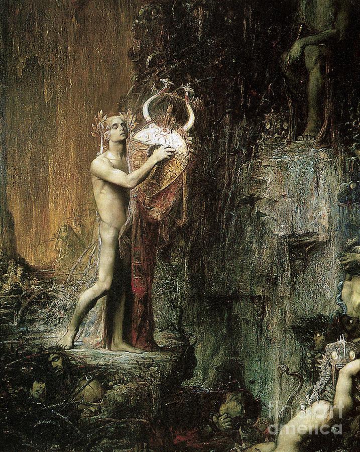 Orpheus 1897 Painting