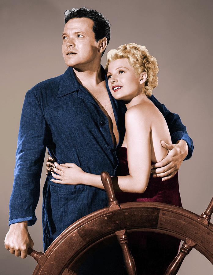 Orson Welles And Rita Hayworth Photograph
