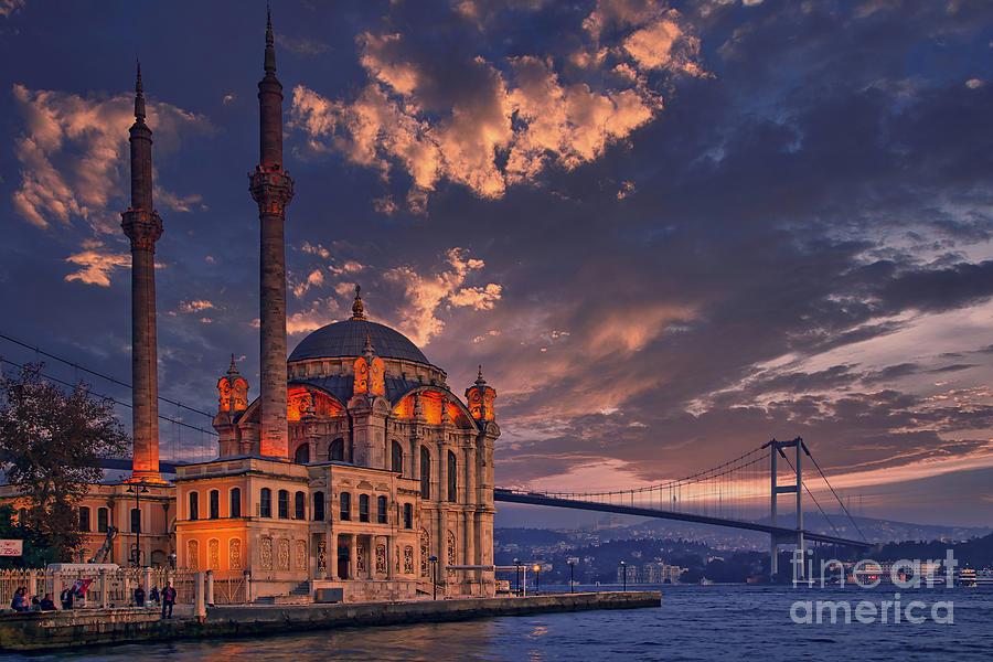 Ortakoy Mosque, Istanbul, Turkey by Sam Antonio Photography