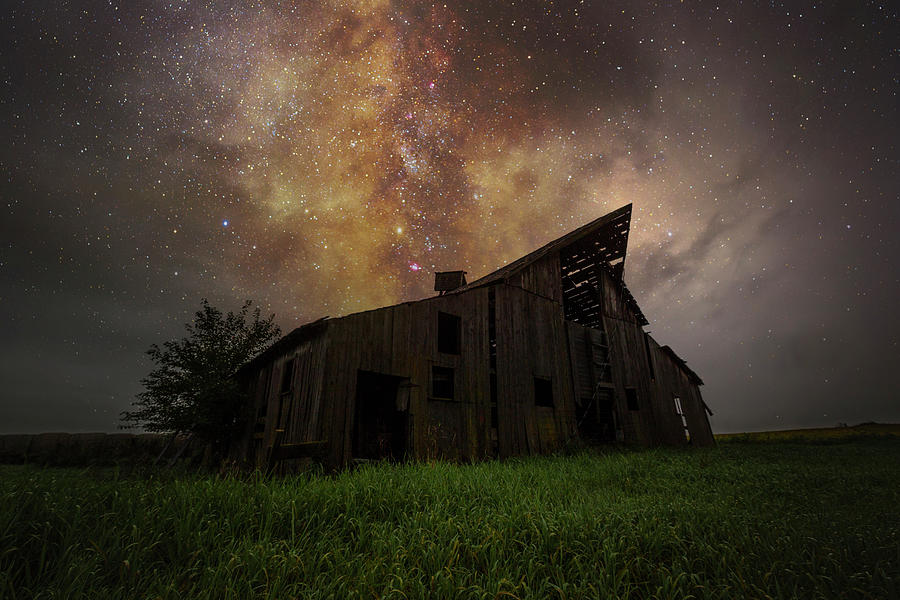 Milky Way Photograph - Otherworldly Dreamer by Aaron J Groen